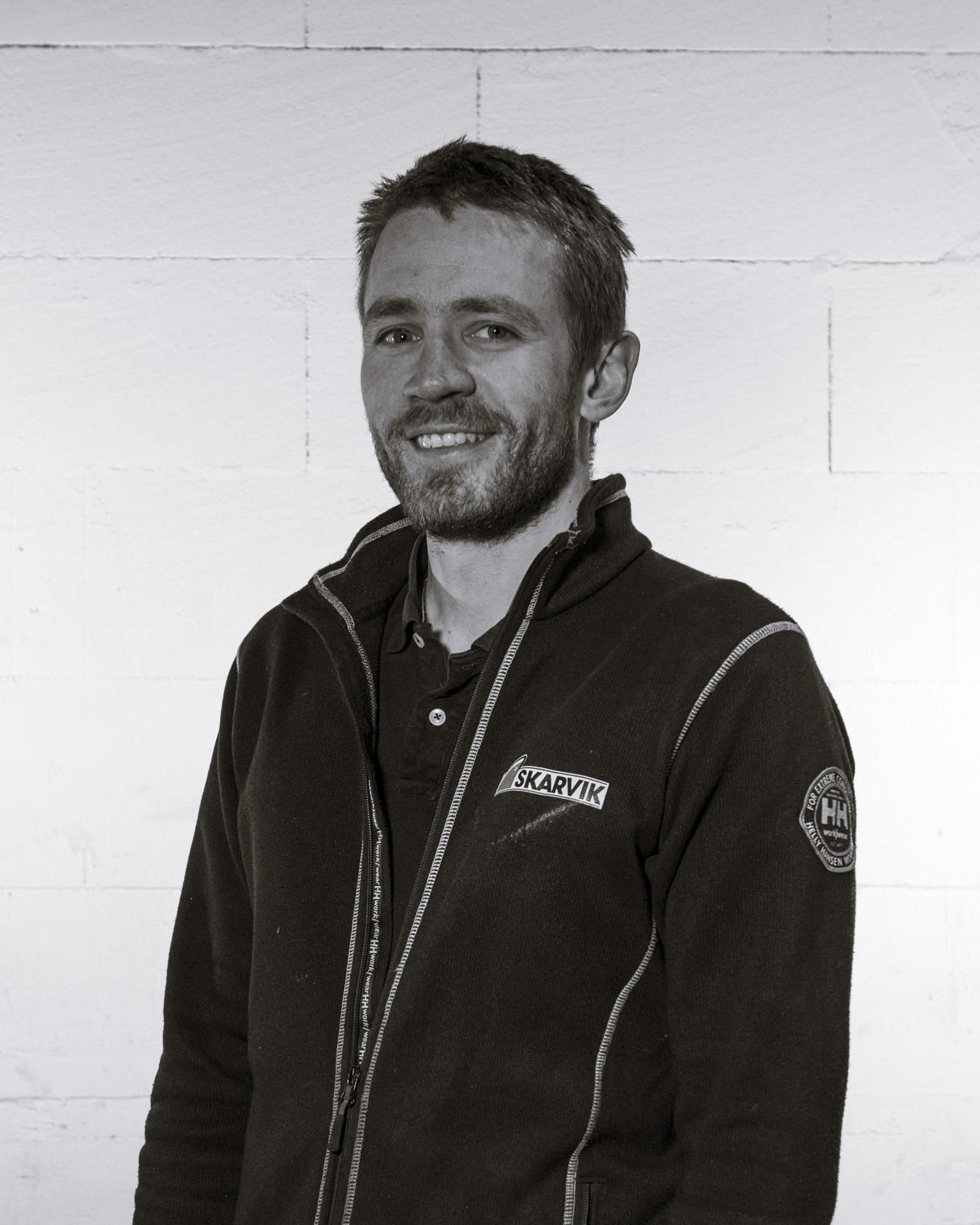 Driftsingeniør Morten Vinter